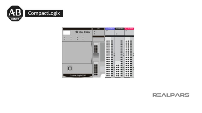 Compactlogix، والوحدات المكوَّنة لها (مصدر الصورة: موقع realpars)