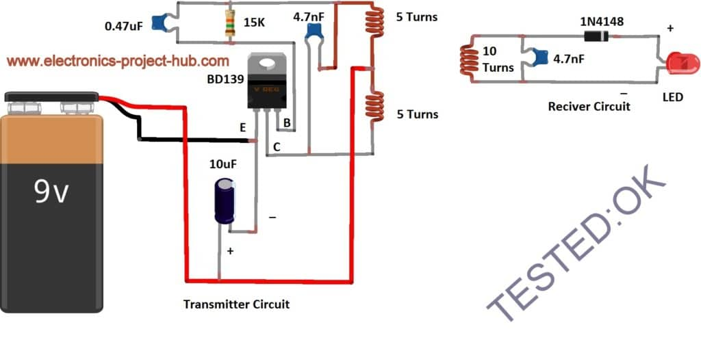 wireless power transmission circuit diagram 2005 gas club car wiring simple u2013 diy electronics circuitwireless 18