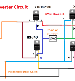 simple transformer less inverter circuit 1000 watt diy 1000 w inverter circuit diagram 1000 w inverter circuit diagram [ 1360 x 765 Pixel ]