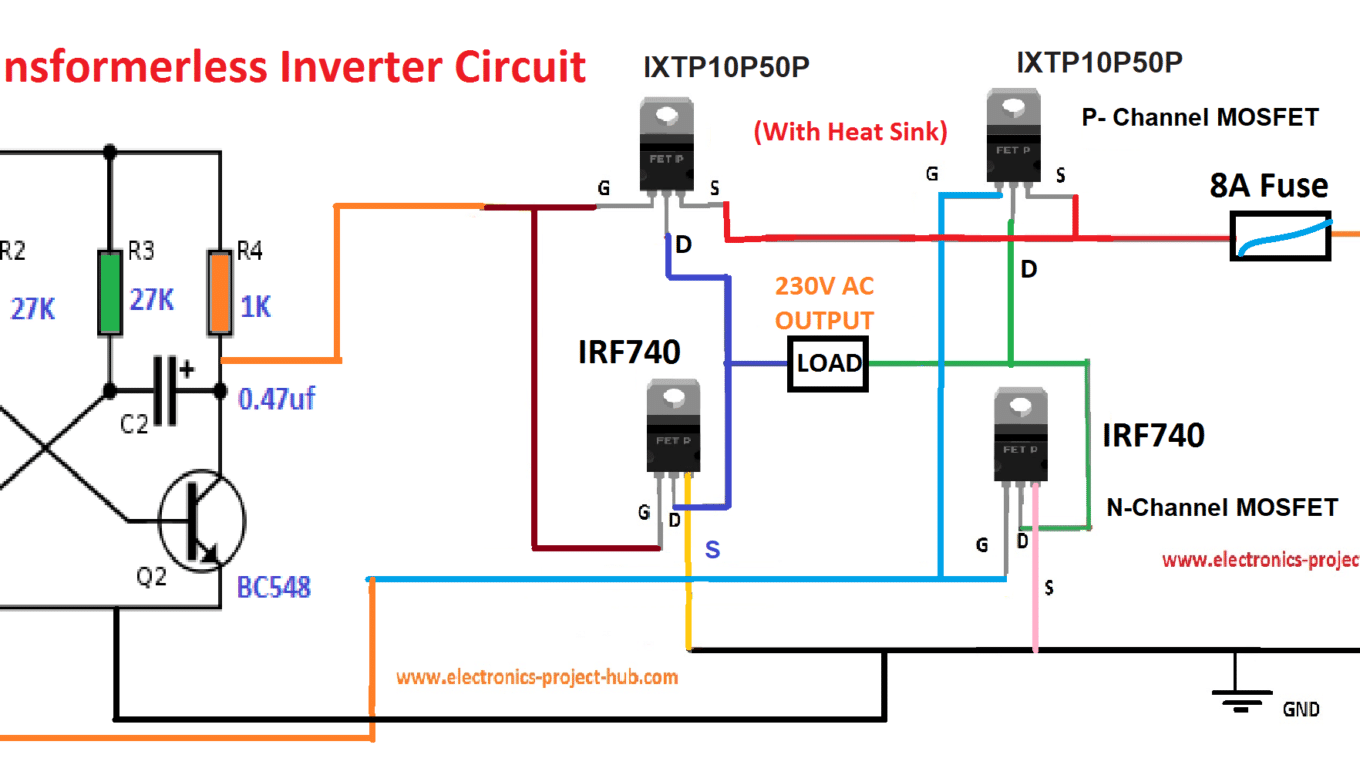 hight resolution of transformerless inverter circuit