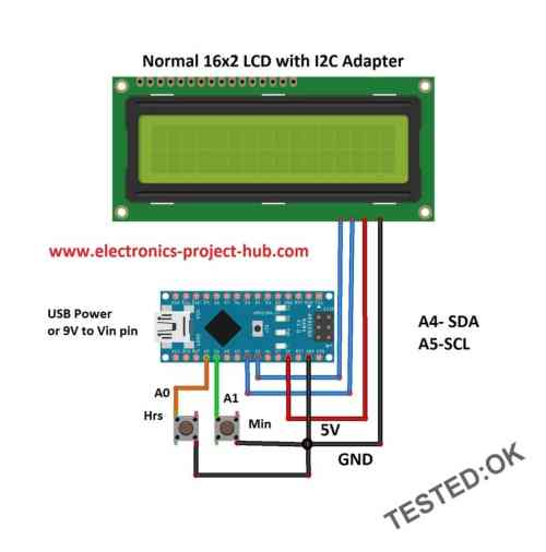 small resolution of digital clock without rtc