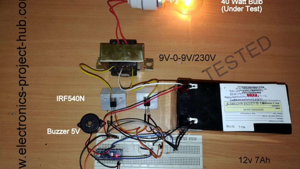 medium resolution of simple arduino inverter circuit