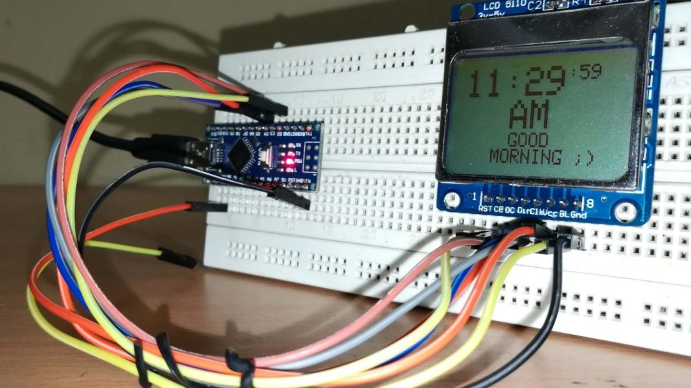 medium resolution of digital clock without rtc