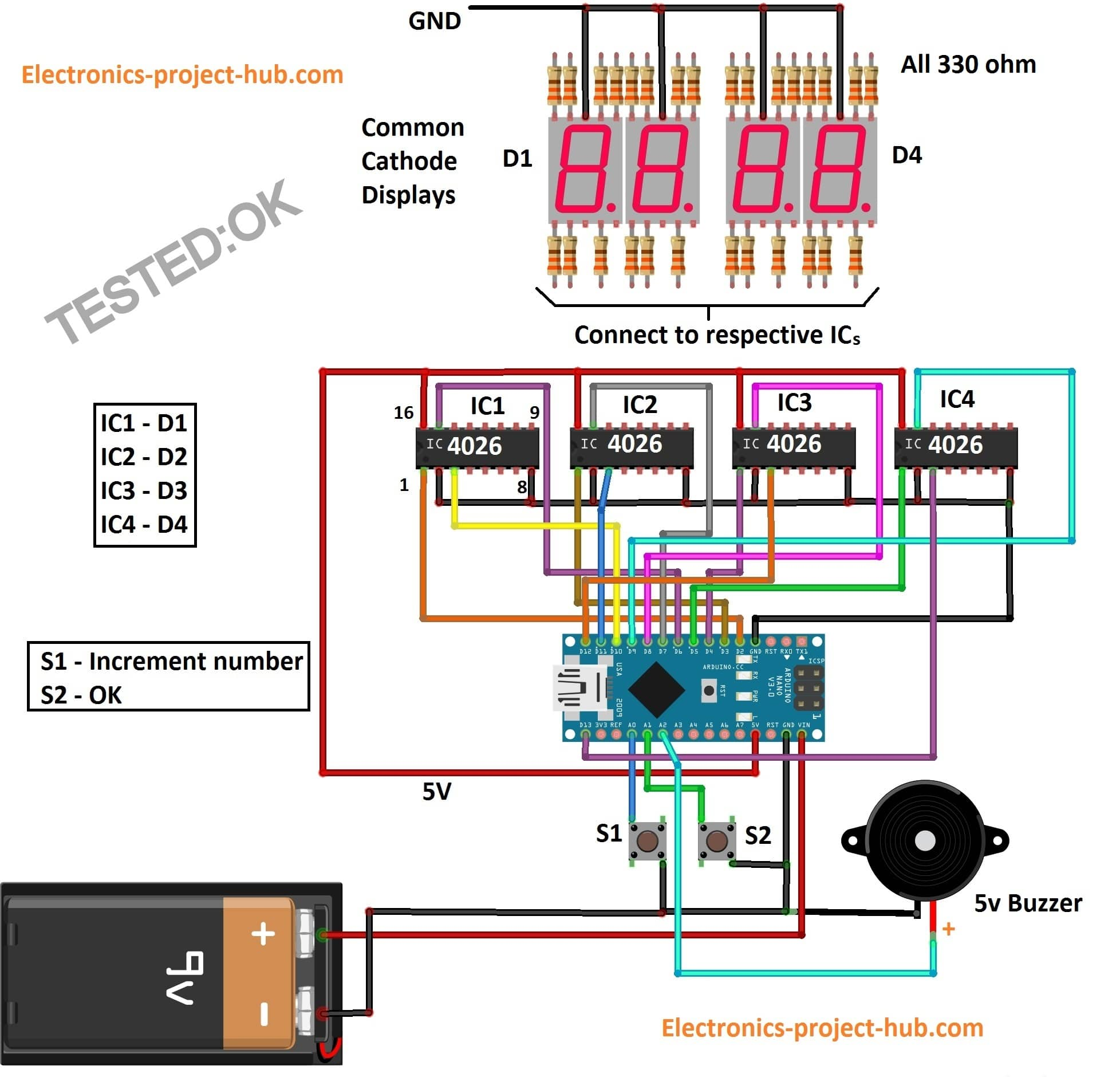 hight resolution of countdown timer circuit diagram