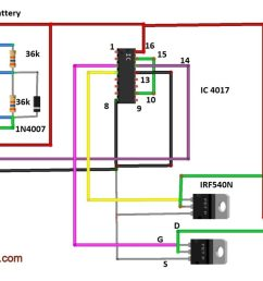 modified sine wave inverter circuit diy electronics projects wave inverter circuit diagram on decade counter circuit schematic [ 1360 x 765 Pixel ]