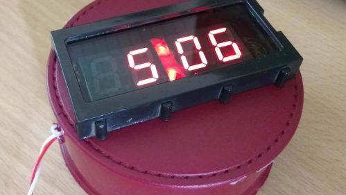 small resolution of digital clock using 7 segment display