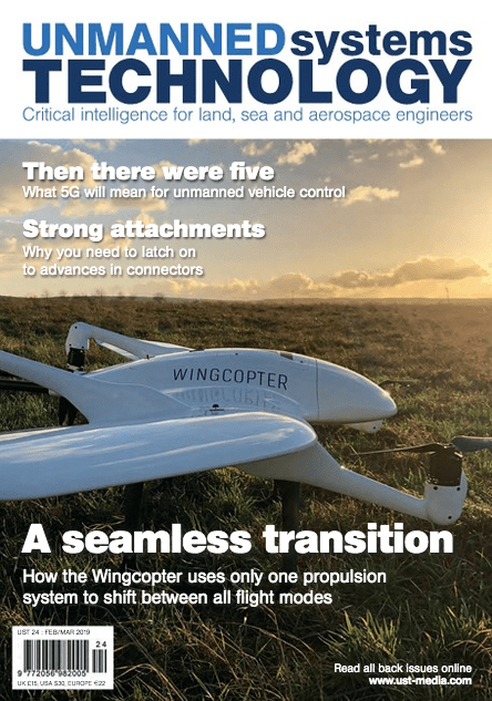 Find us in the latest issue of UNMANNED Systems Technology magazine.