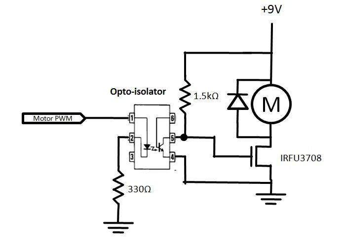 using optoisolators to microcontroller inputs