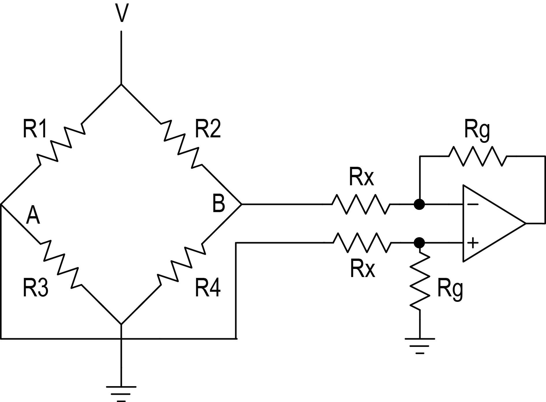 strain gauge wiring diagram bmw 1 series fuse design notebook linearization of a wheatstone bridge