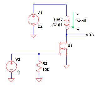 MOSFET Relay Driver