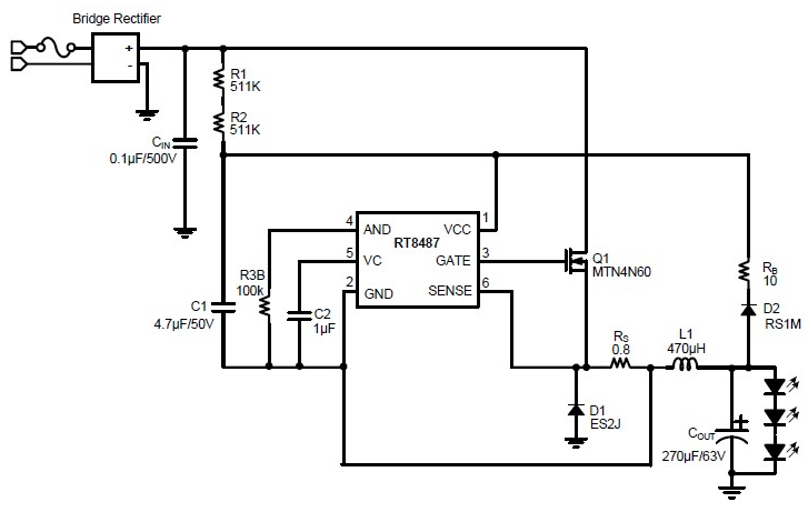 Led Driver Circuit Diagram | Led Driver Circuit Explained And Available Solutions