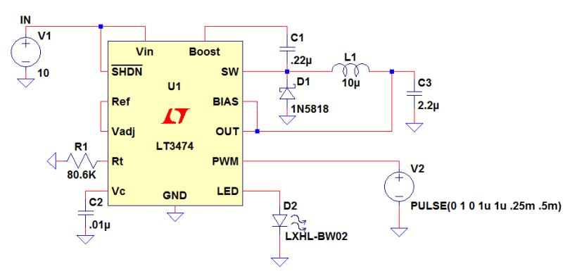 Led Driver Circuit Buck Converter Led Driver Circuit Diagram