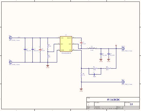 5V 2A DCDC Schematic
