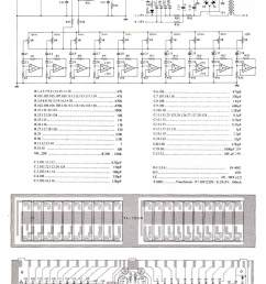 2 x 10 band stereo graphic equaliser electronic schematic diagram 2x10 band stereo graphic equaliser circuit diagram [ 800 x 1200 Pixel ]