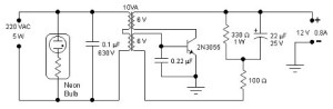 5W Simple Inverter | Electronic Schematic Diagram