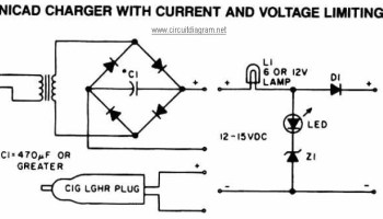 NiCAD Battery Charger with Current and Voltage Limiting   Electronic on