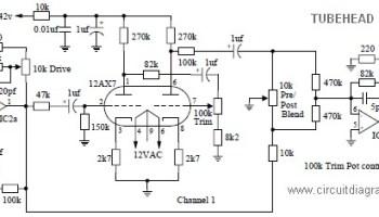 Groovy Tube Head Pre Amp Electronic Schematic Diagram Wiring 101 Xrenketaxxcnl