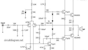 400w Power Amplifier Safari Electronic Schematic Diagram