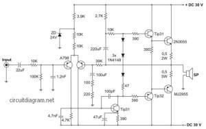 400W Power Amplifier