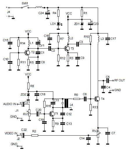 logarithmic amplifier lm11c electronic schematic diagram