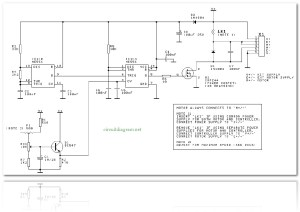 DC Motor Speed Controller | Electronic Schematic Diagram