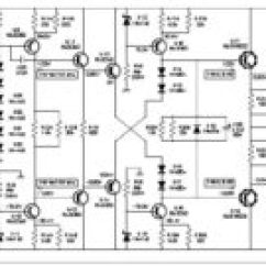 2000w Power Amplifier Circuit Diagram Control Wiring Electronic Schematic Class Ab This Is The