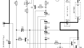 6v 9v 12v Battery Charger With Constant Current Charging