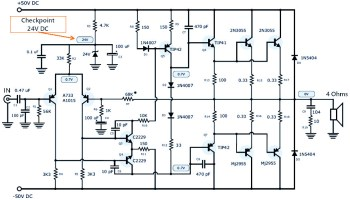 Active Speaker Protector Circuit and PCB Layout | Schematic Design