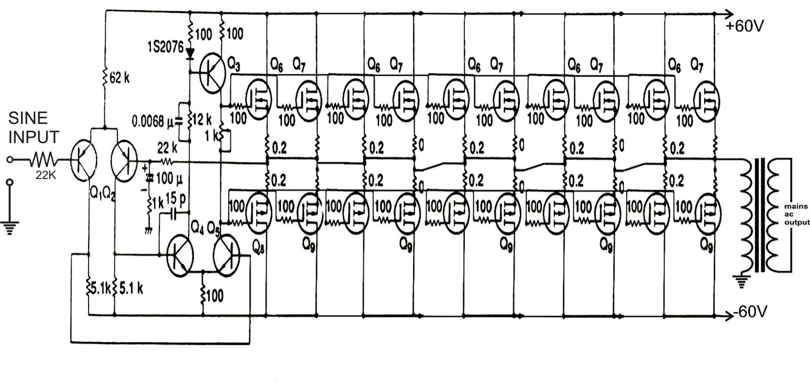2n Inverter Circuit