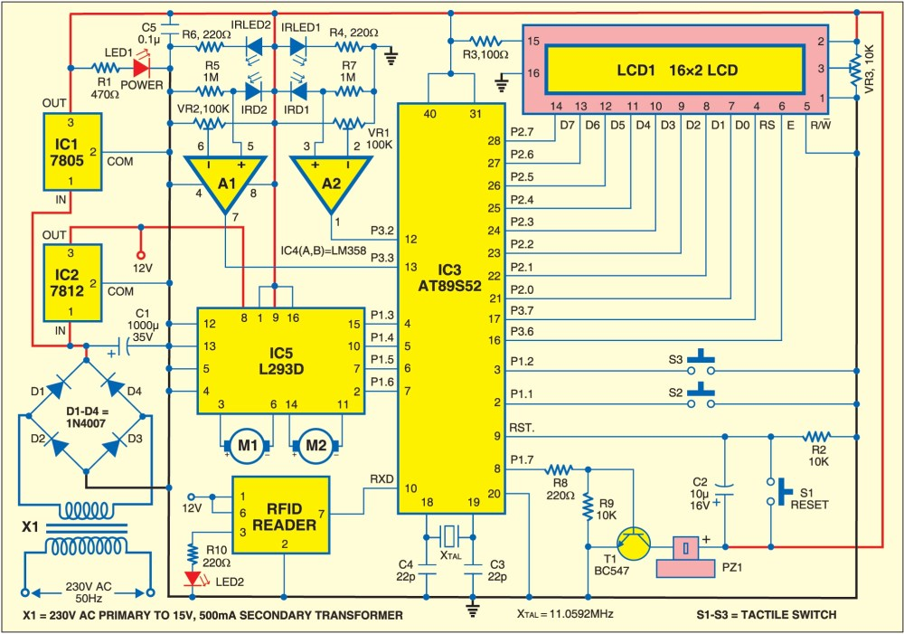 medium resolution of rfid based automatic vehicle parking system source code available rh electronicsforu com circuit diagram