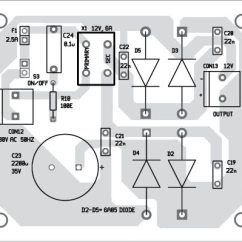 Audio Amplifier Circuit Diagram With Layout Weg 6 Lead Motor Wiring 4 Channel Multi Mode Available Component Of The Power Supply Pcb