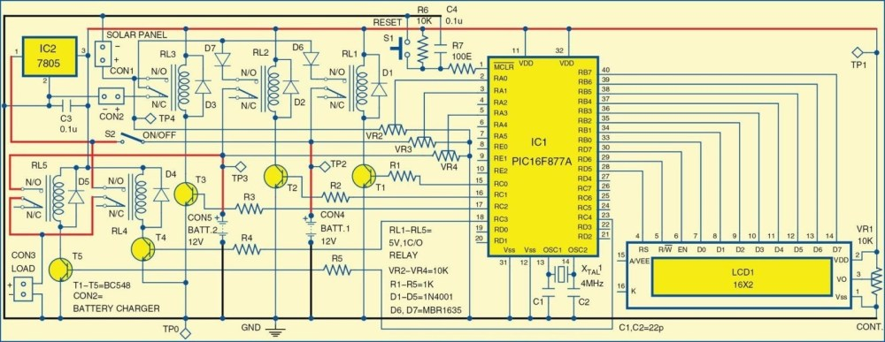 medium resolution of 1 circuit diagram of the solar powered home lighting system