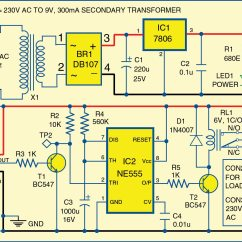 Pir Motion Sensor Wiring Diagram Nissan X Trail T31 Detector Using Ne555 Timer Electronics For You