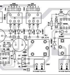 7 component layout of the pcb [ 1051 x 854 Pixel ]