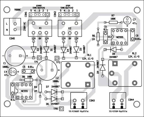 small resolution of 7 component layout of the pcb