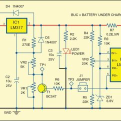 Automatic 12v Car Battery Charger Circuit Diagram Nitrous Express Maximizer 5 Wiring Detailed Project With Available