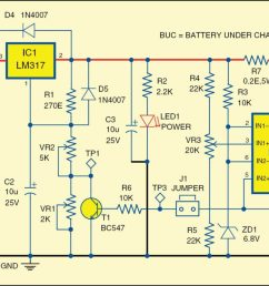 12v battery charger detailed project with circuit available circuit diagram of 12v automatic battery charger circuit diagram 12v battery charger [ 2026 x 905 Pixel ]