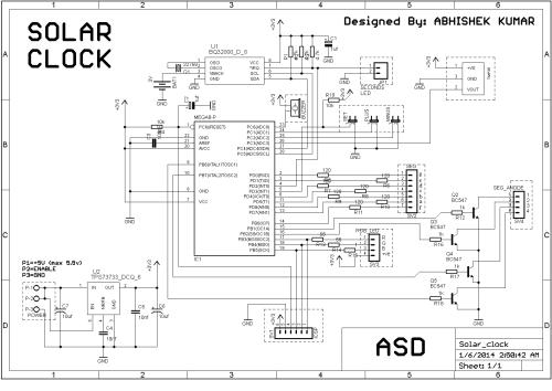 small resolution of main clock circuit diagram
