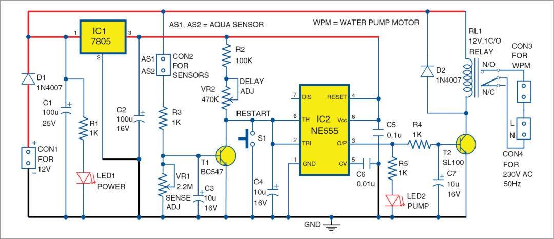 2 led circuit diagram