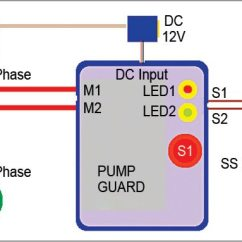 30a Relay Wiring Diagram W124 E500 Water Pump Dry Run Guard | Full Project With Source Code