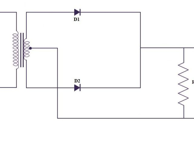 Center Tap Full Wave Rectifier Circuit
