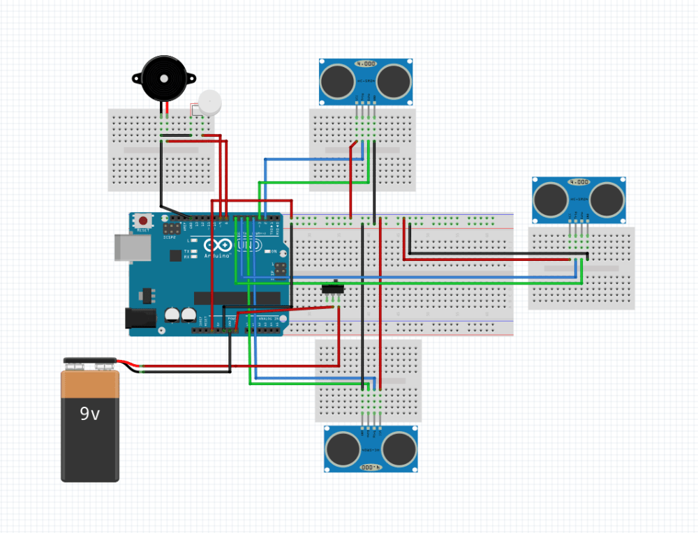 medium resolution of smart stick using arduino circuit diagram