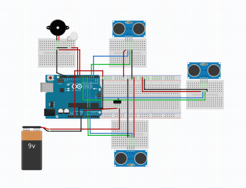small resolution of smart stick using arduino circuit diagram