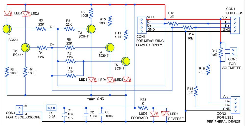 medium resolution of usb interface signal monitoring circuit
