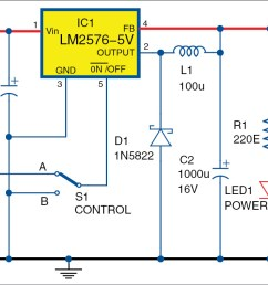 circuit diagram of add on usb power circuit for ups [ 1331 x 673 Pixel ]