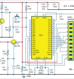 circuit diagram of wireless vu meter [ 1563 x 1128 Pixel ]