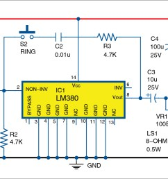 super simple intercom detailed circuit diagram available wireless full duplex intercom circuit diagram wireless intercom circuit diagram [ 1331 x 788 Pixel ]