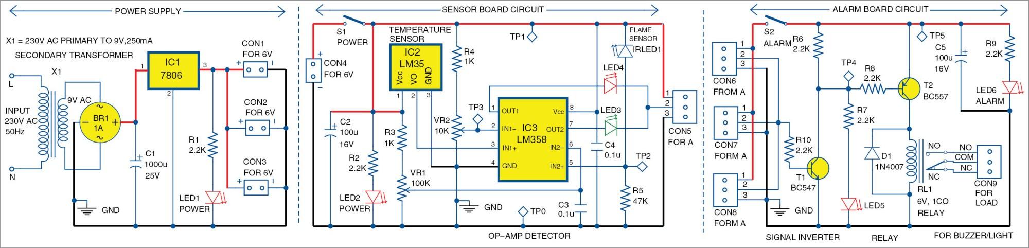hight resolution of fire alarm circuit diagram