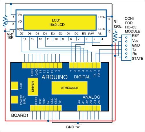 small resolution of wireless lcd display via bluetooth