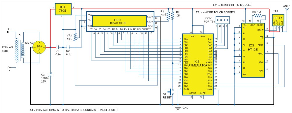 medium resolution of circuit diagram of the transmitter